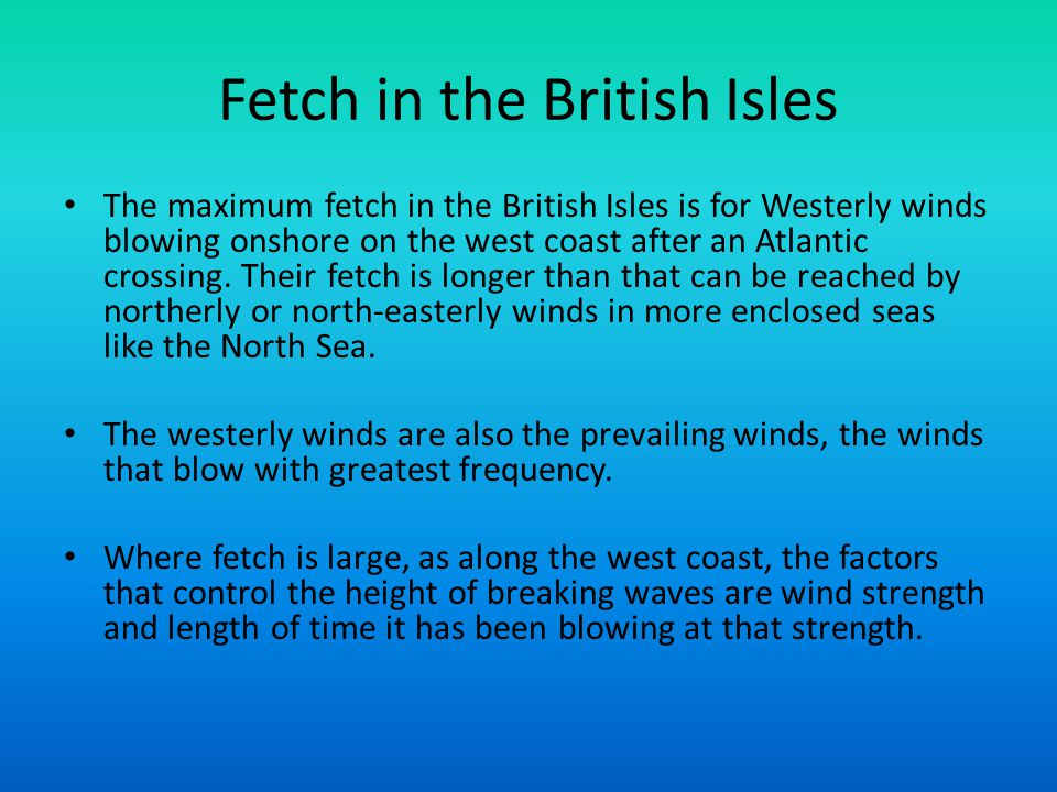 Fetch in the British Isles