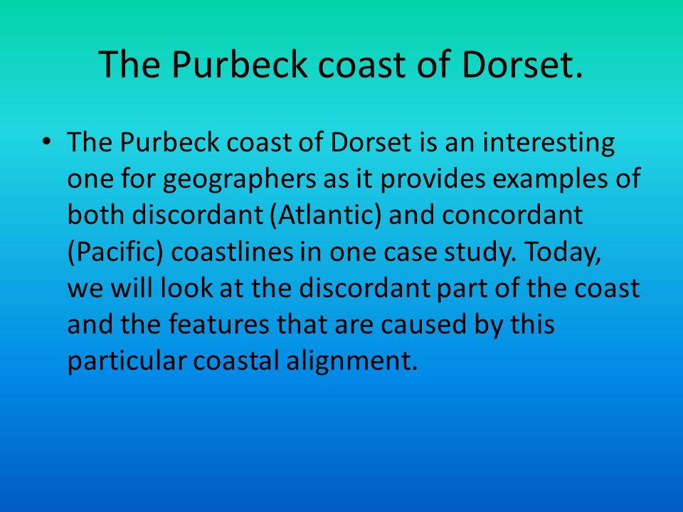 The Purbeck coast of Dorset.