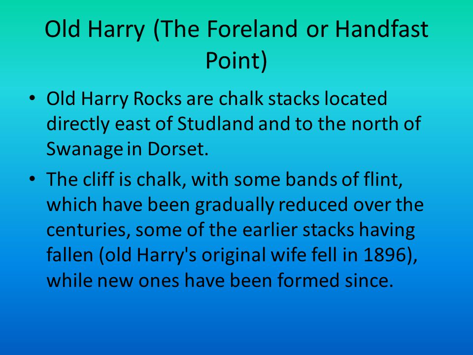 Old Harry (The Foreland or Handfast Point)