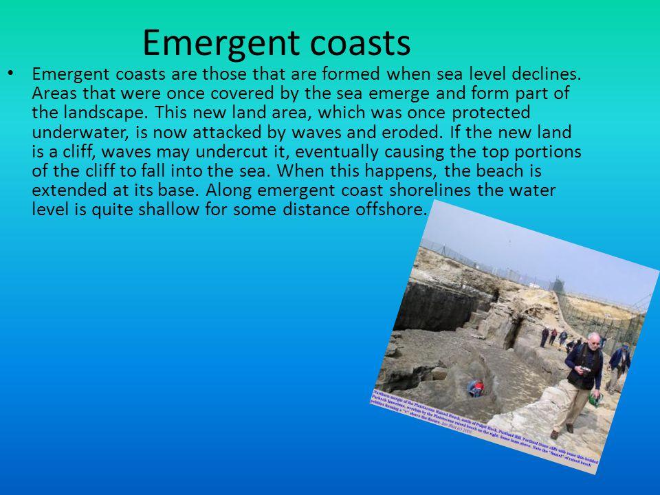Emergent coasts