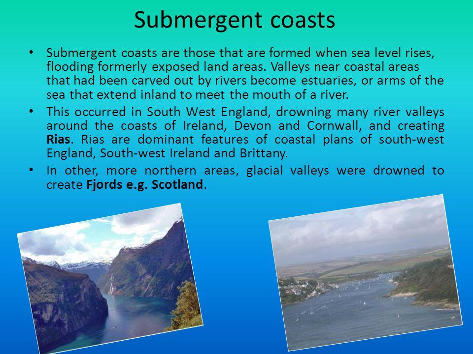 Submergent coasts