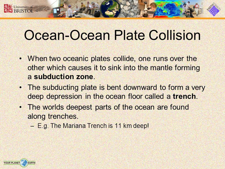 Ocean-Ocean Plate Collision