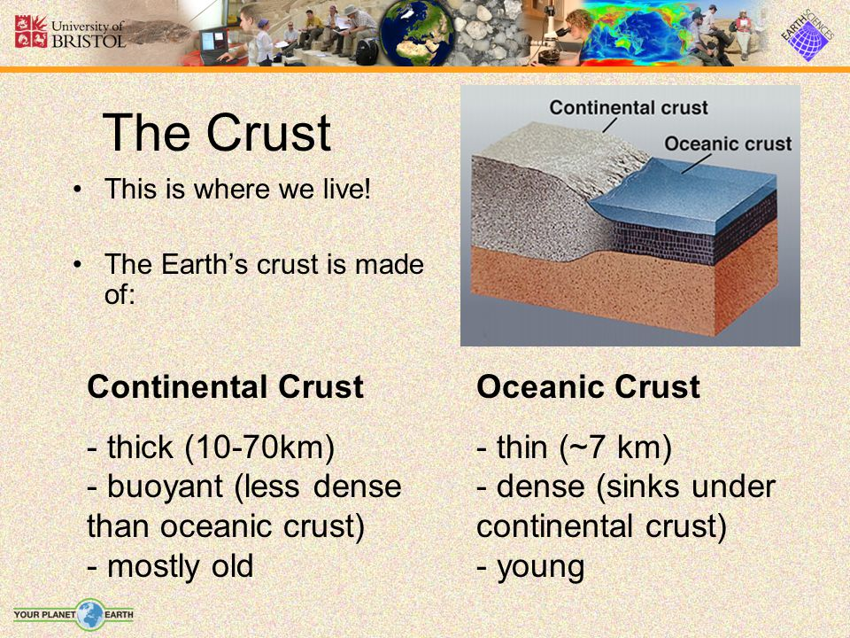 The Crust Continental Crust
