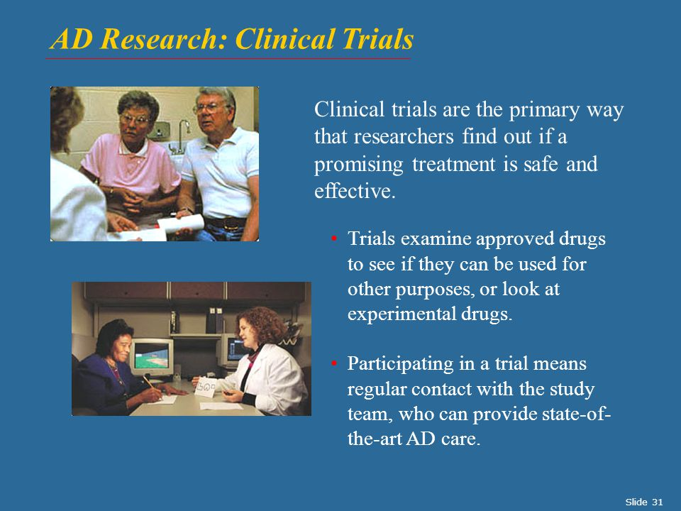 AD Research: Clinical Trials