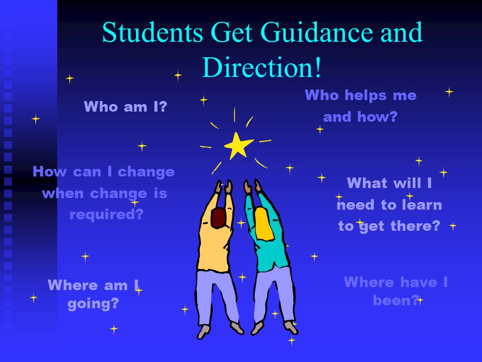 Students Get Guidance and Direction!
