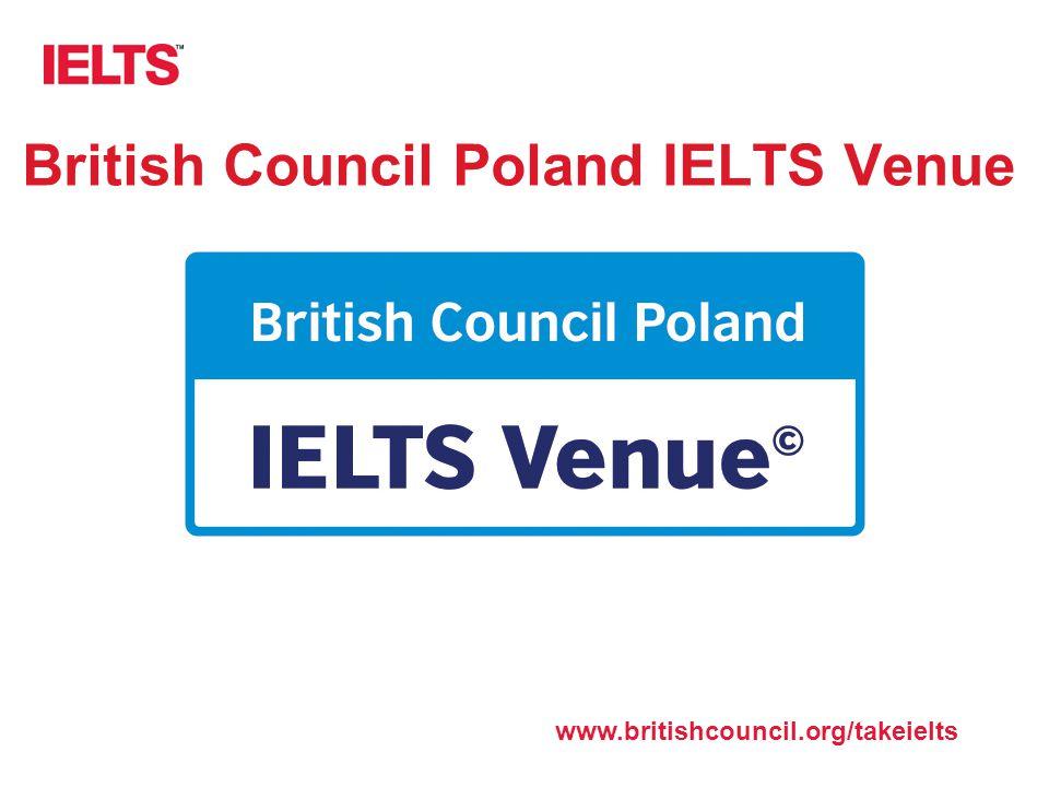 British Council Poland IELTS Venue