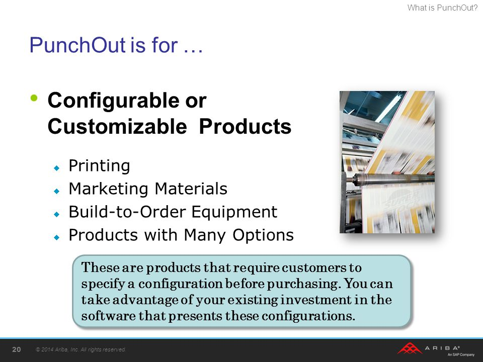 Configurable or Customizable Products