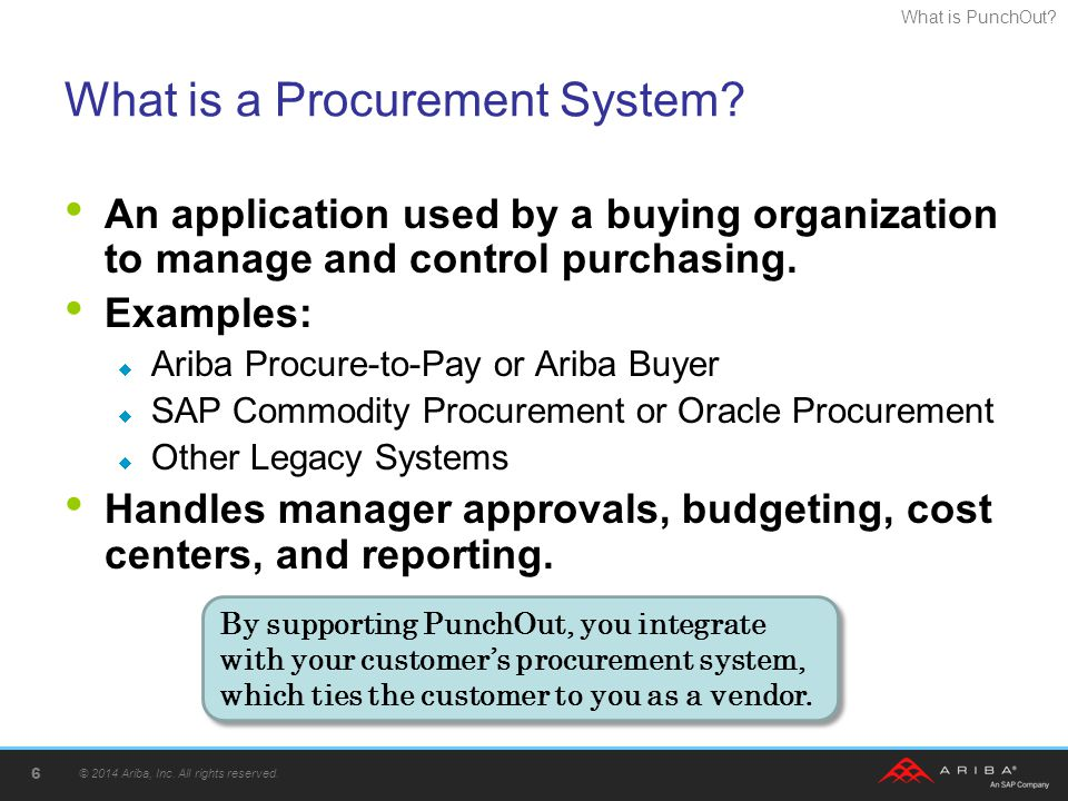 What is a Procurement System