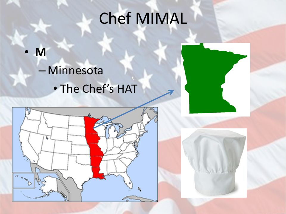 Chef MIMAL M Minnesota The Chef's HAT