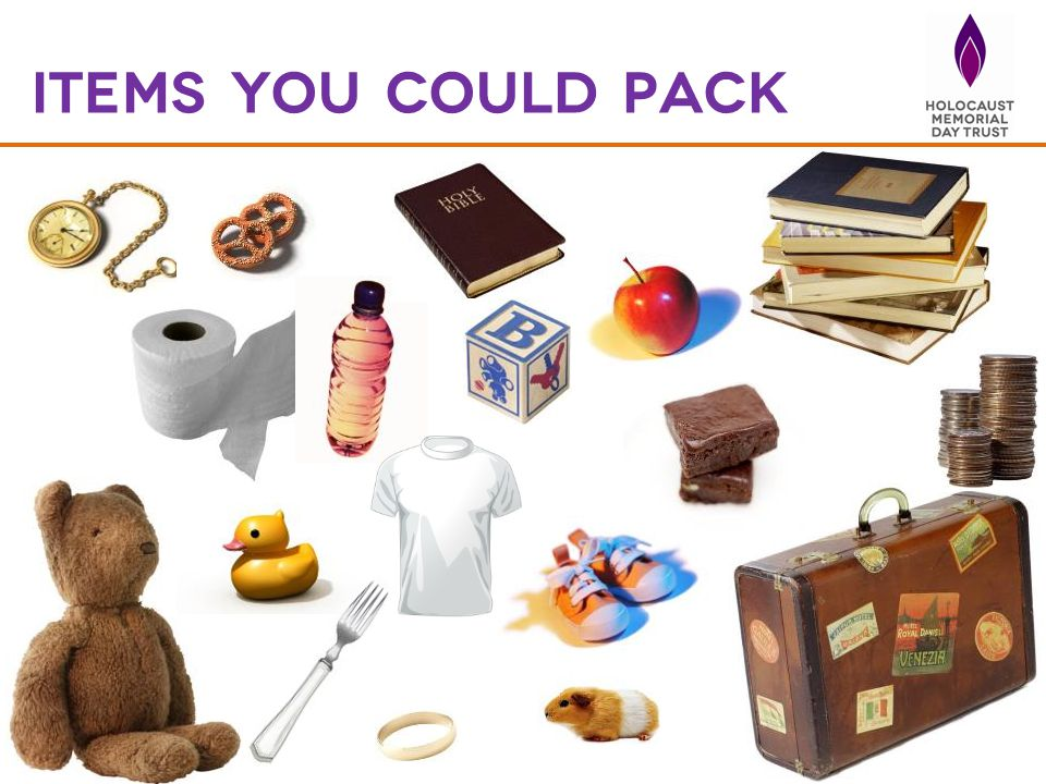 Items you could pack