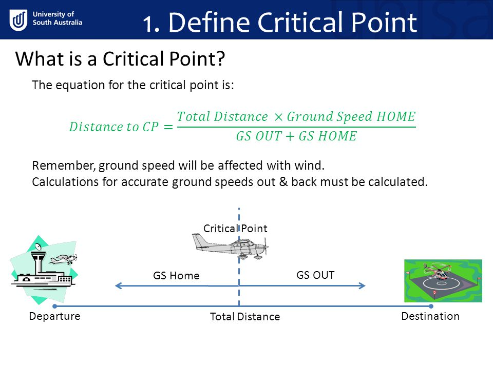 1. Define Critical Point What is a Critical Point