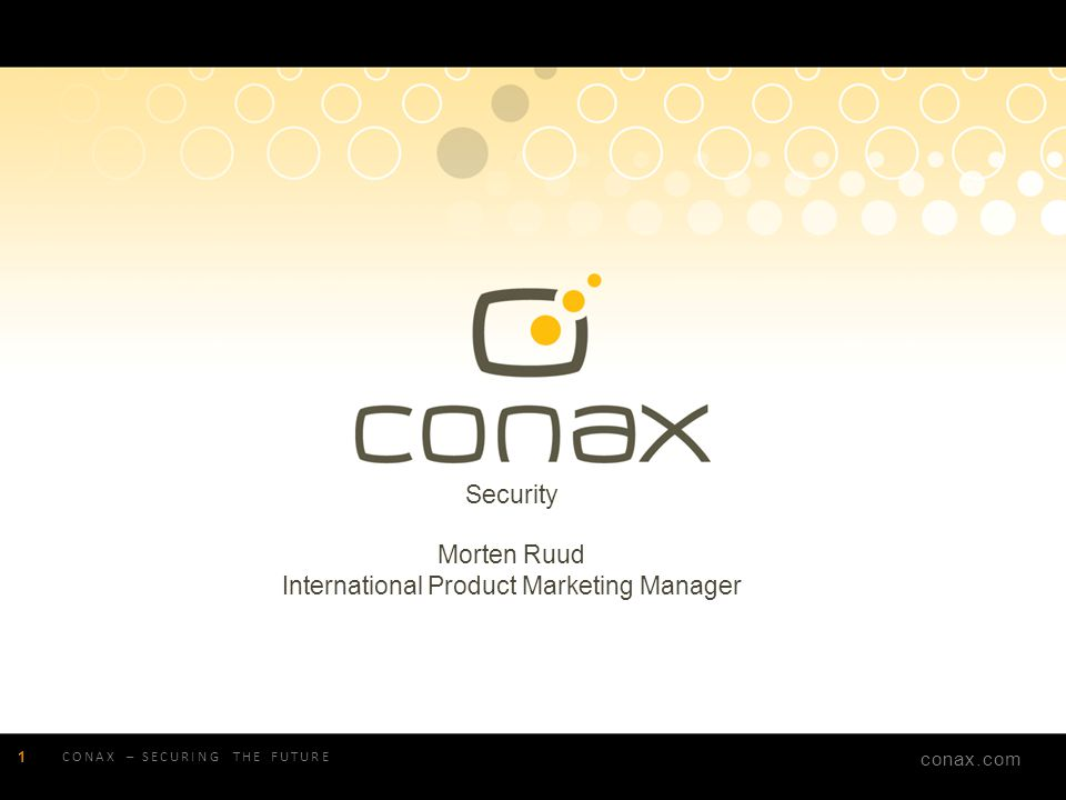 International Product Marketing Manager