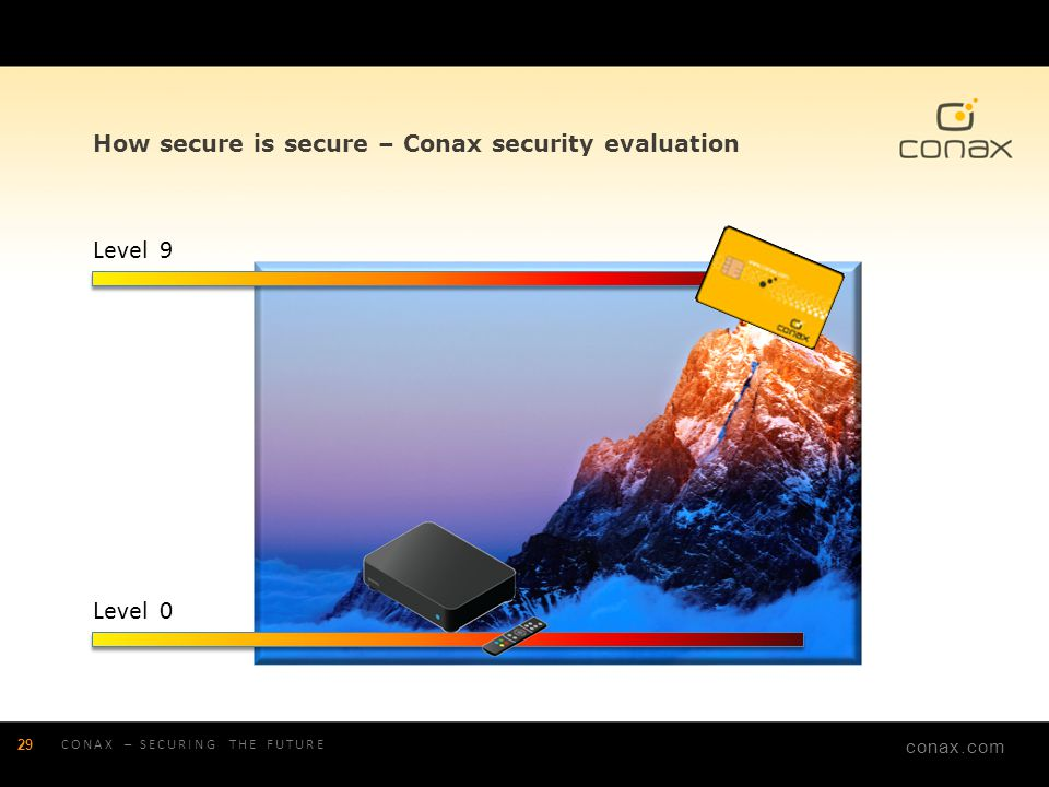 How secure is secure – Conax security evaluation