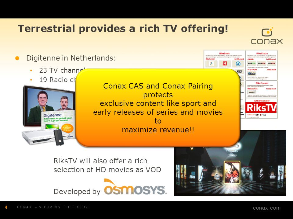 Terrestrial provides a rich TV offering!