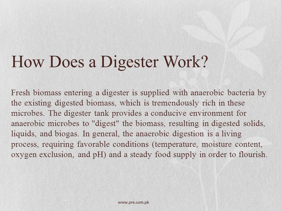 How Does a Digester Work