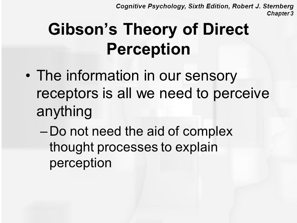 Gibson's Theory of Direct Perception