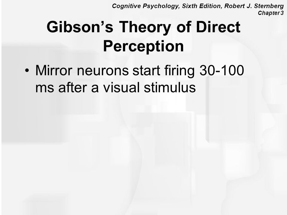 Chapter 3 visual perception ppt video online download for Mirror neurons psychology definition