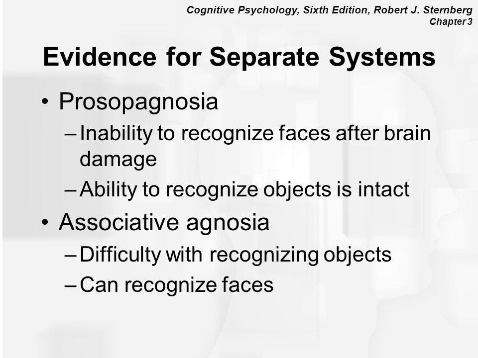 Evidence for Separate Systems