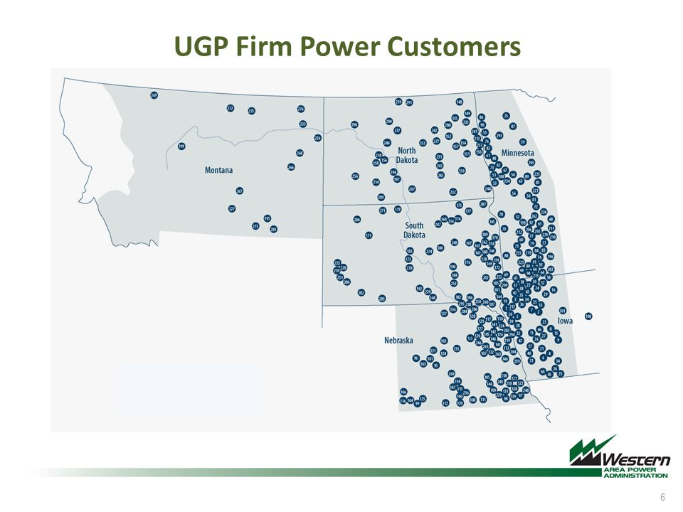 UGP Firm Power Customers