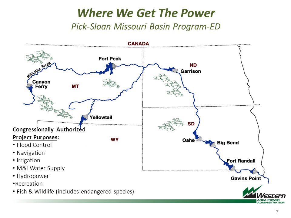 Where We Get The Power Pick-Sloan Missouri Basin Program-ED