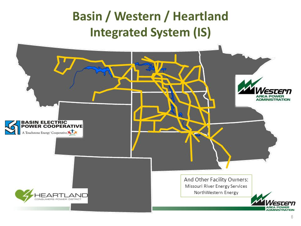 Basin / Western / Heartland Integrated System (IS)