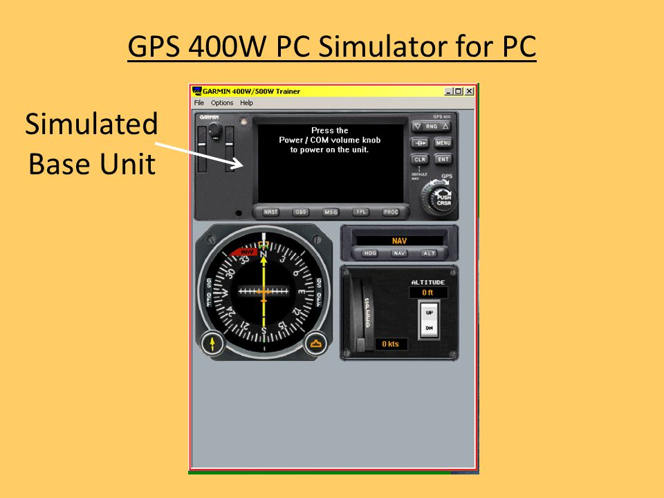 GPS 400W PC Simulator for PC