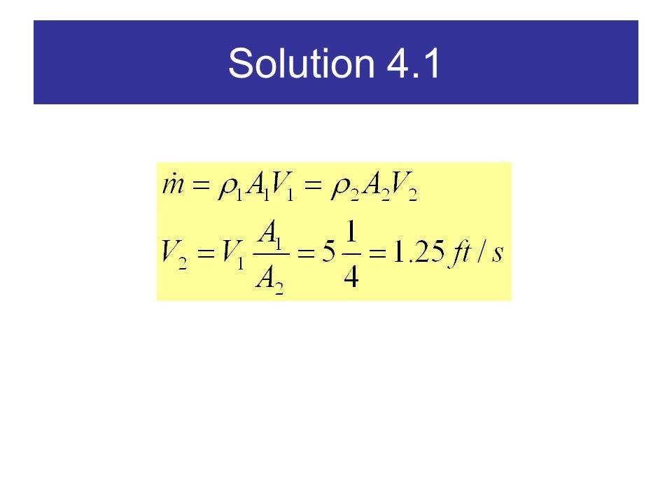 Solution 4.1