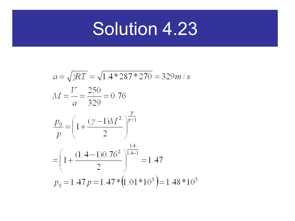 Solution 4.23