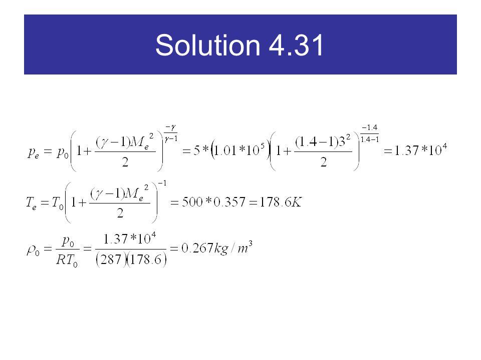 Solution 4.31