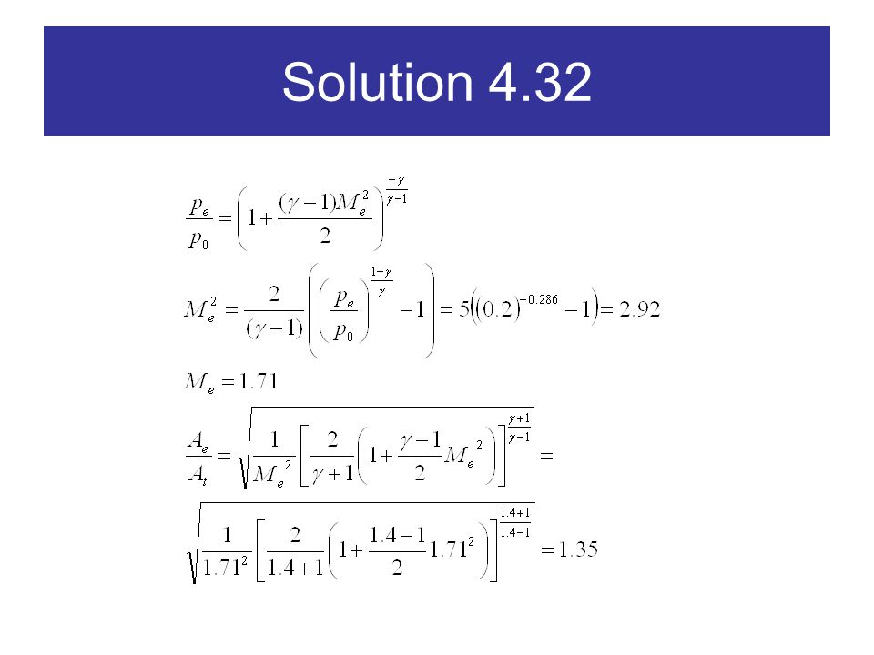 Solution 4.32