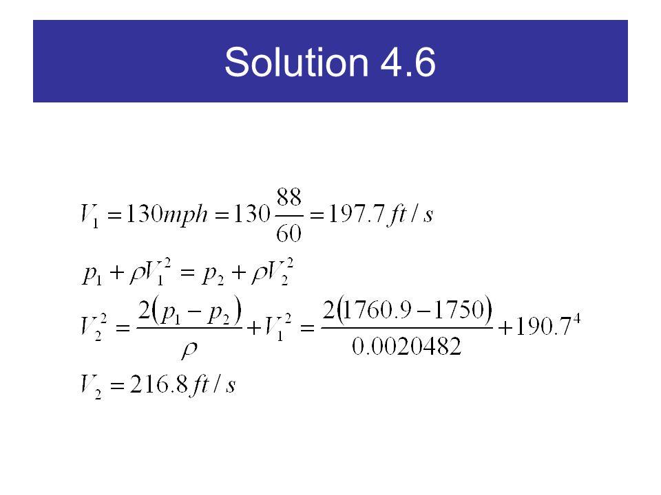 Solution 4.6