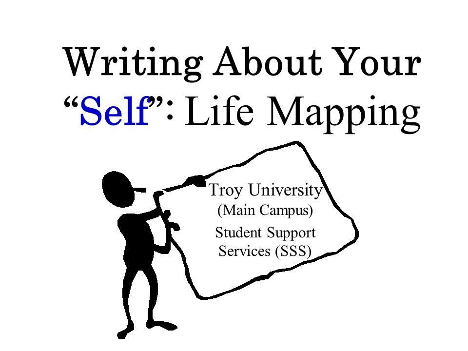 Writing About Your Self : Life Mapping