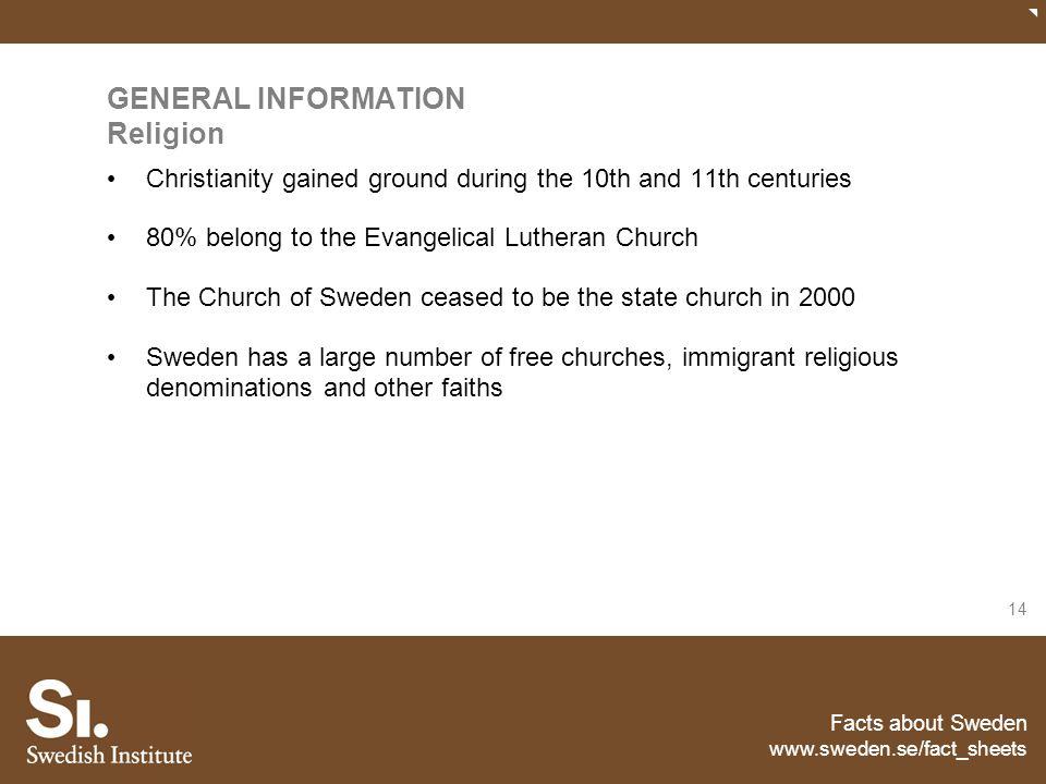 GENERAL INFORMATION Religion