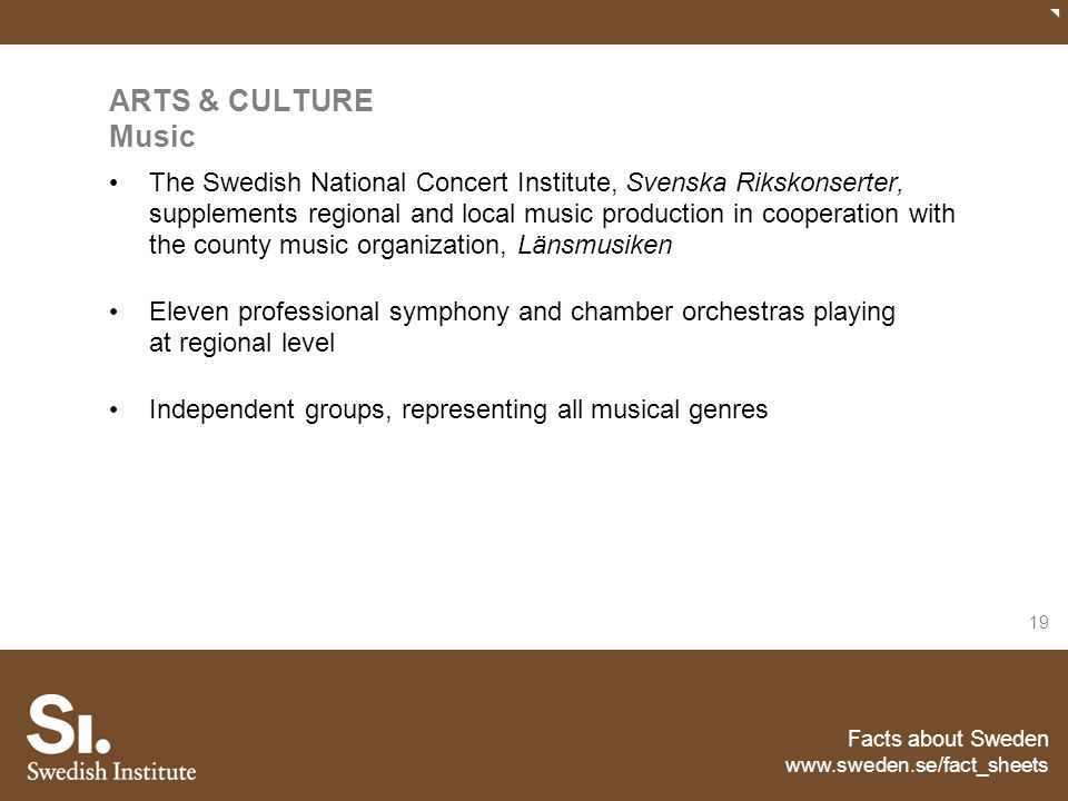ARTS & CULTURE Music