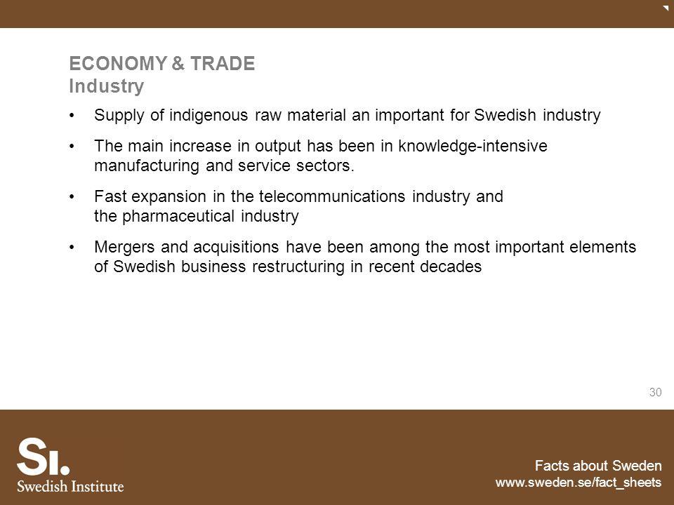 ECONOMY & TRADE Industry