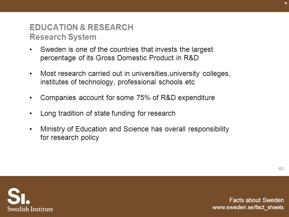 EDUCATION & RESEARCH Research System