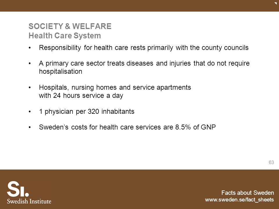 SOCIETY & WELFARE Health Care System