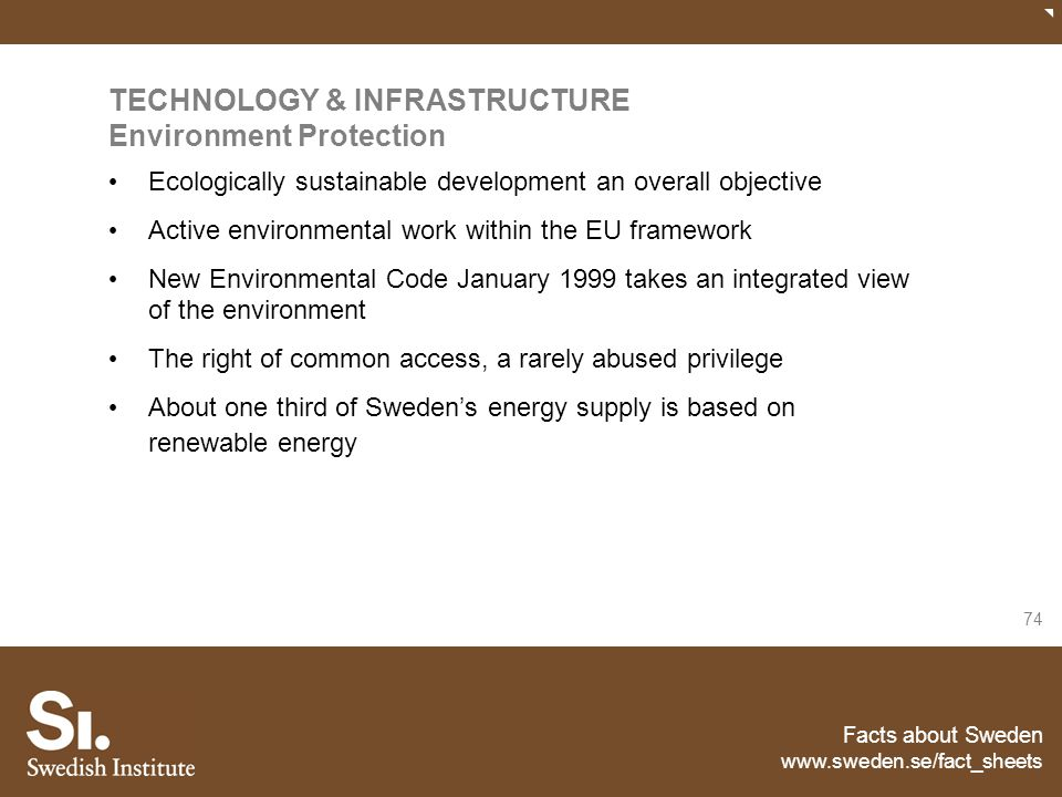 TECHNOLOGY & INFRASTRUCTURE Environment Protection