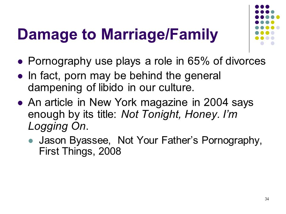 Damage to Marriage/Family