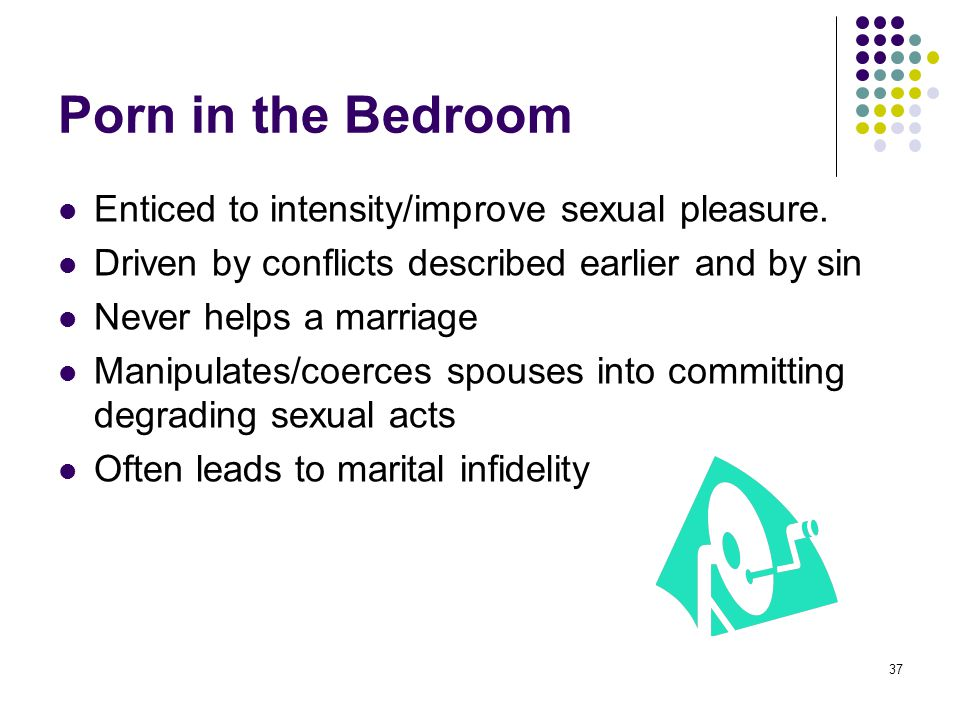 Porn in the Bedroom Enticed to intensity/improve sexual pleasure.