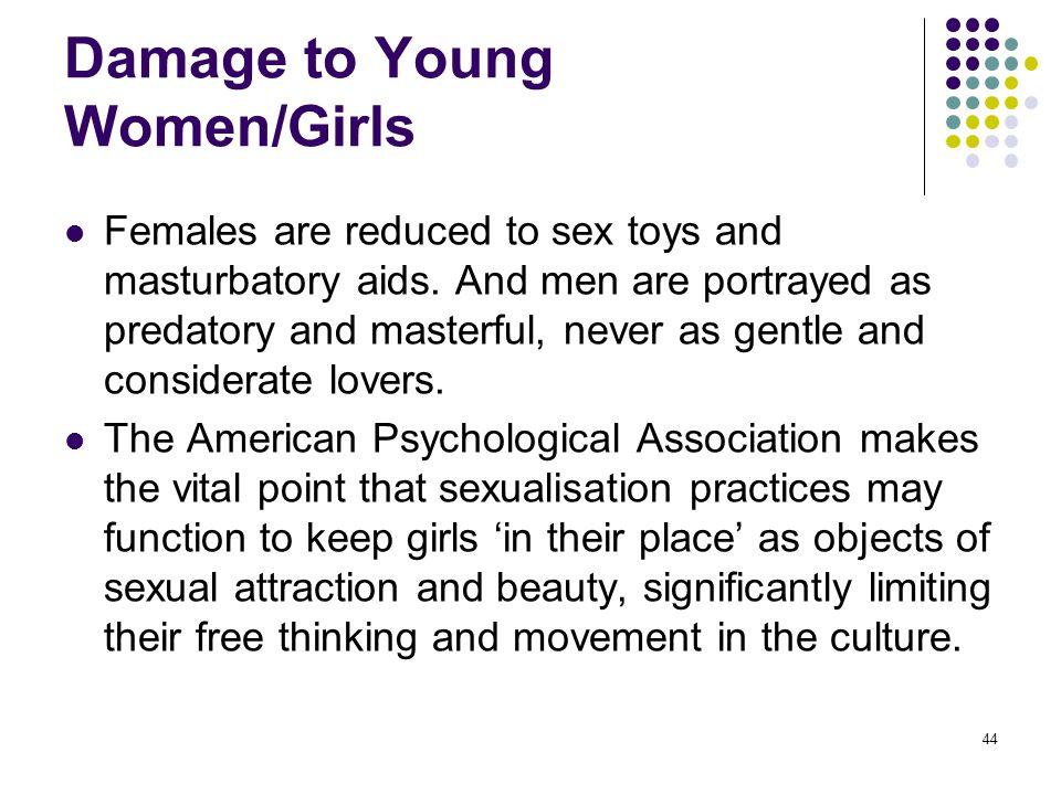 Damage to Young Women/Girls