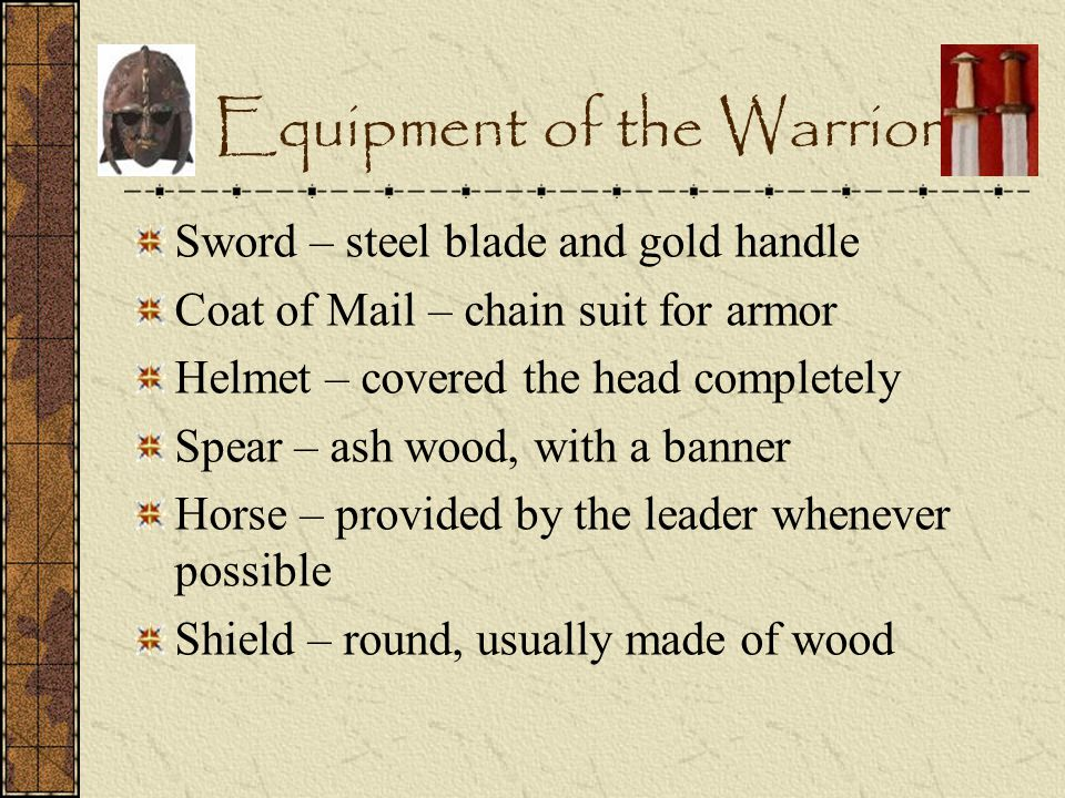 Equipment of the Warrior
