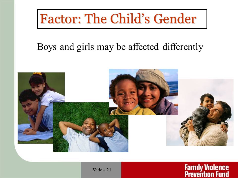 Factor: The Child's Gender