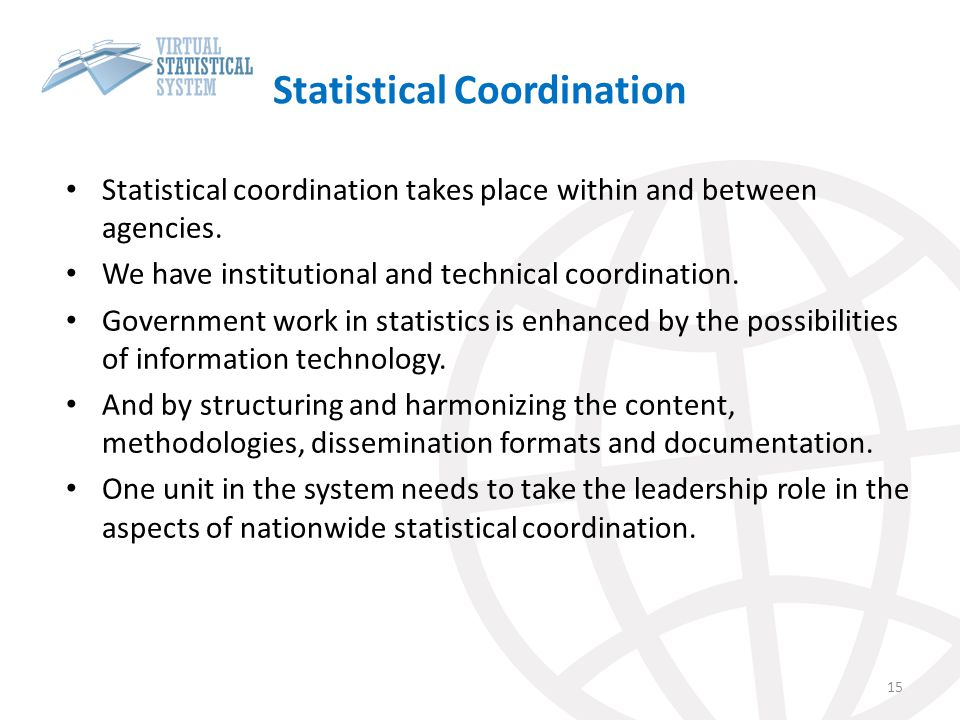 Statistical Coordination