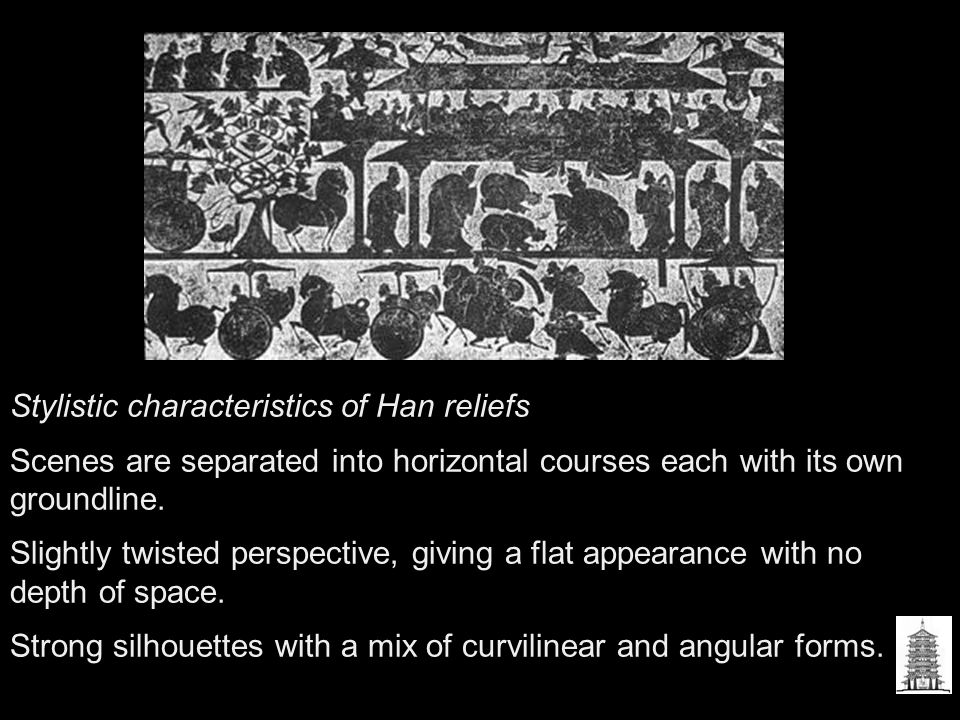 Stylistic characteristics of Han reliefs