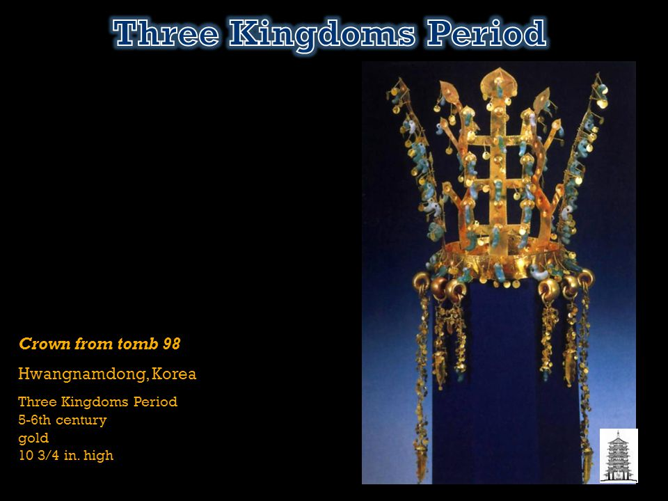 Three Kingdoms Period Crown from tomb 98 Hwangnamdong, Korea
