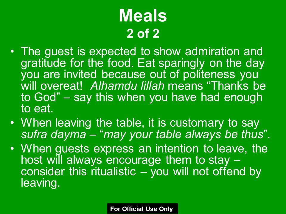 Meals 2 of 2
