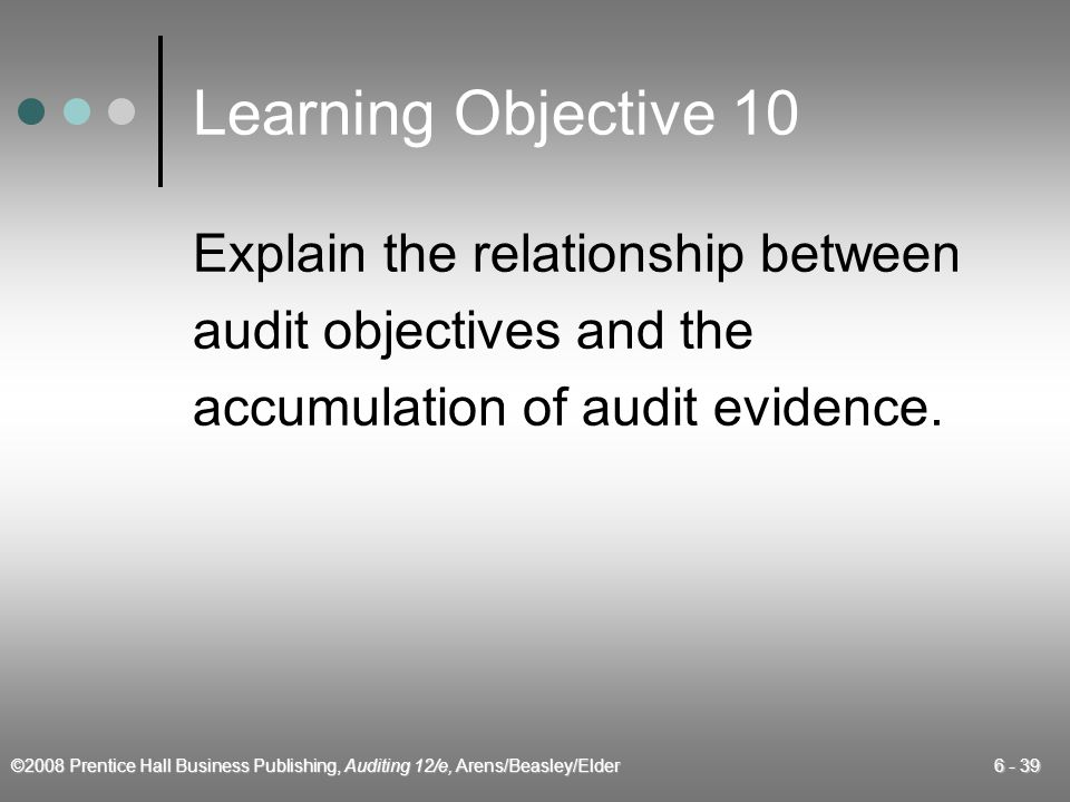 Learning Objective 10 Explain the relationship between