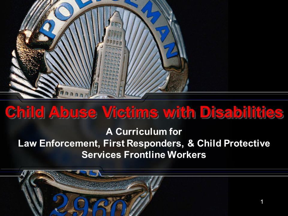 Child Abuse Victims with Disabilities