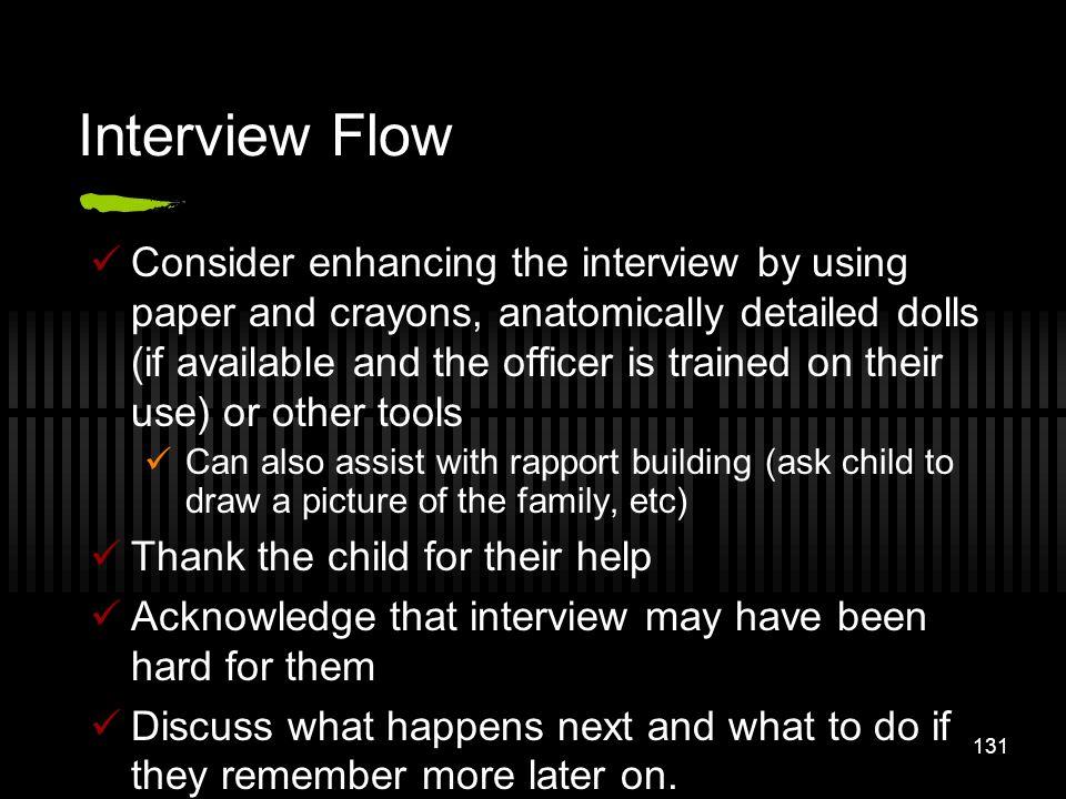 Interview Flow
